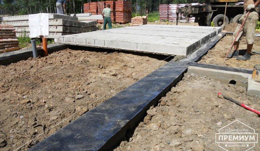 Строительство дома из кирпича в п.Сысерть 2
