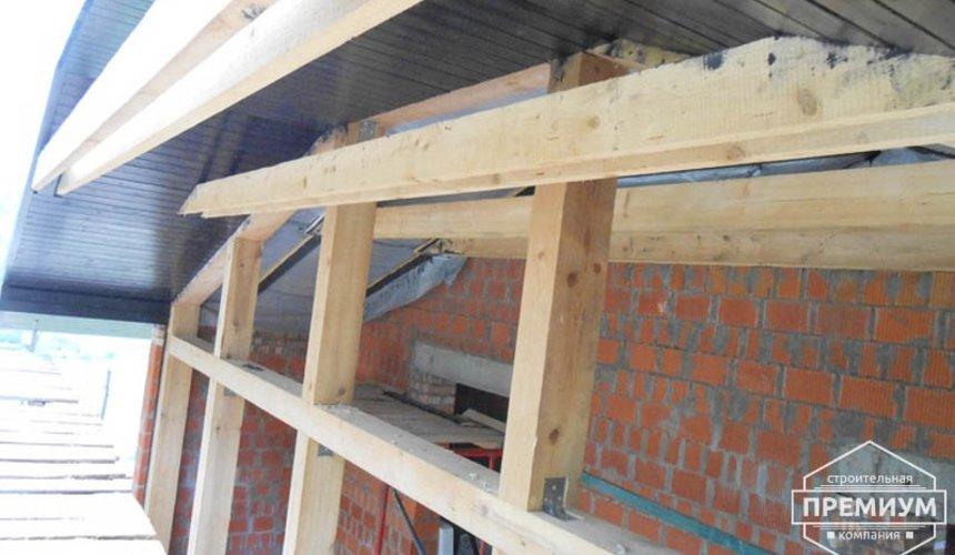 Строительство дома из кирпича в п.Сысерть 91