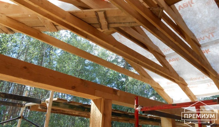 Строительство дома из кирпича в п.Сысерть 99