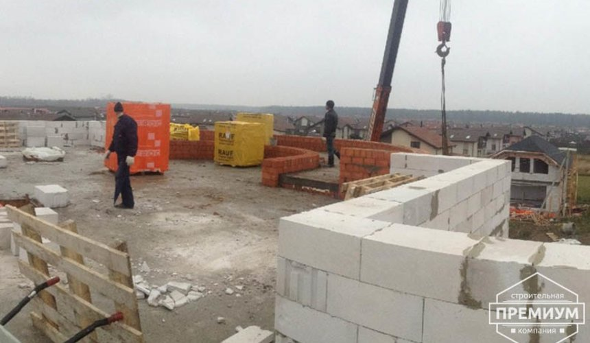 Проектирование и строительство дома из блоков в коттеджном посёлке Новая Россоха 18