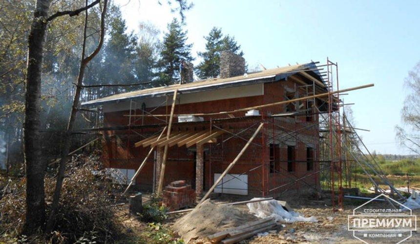 Строительство дома из кирпича в п.Сысерть 114
