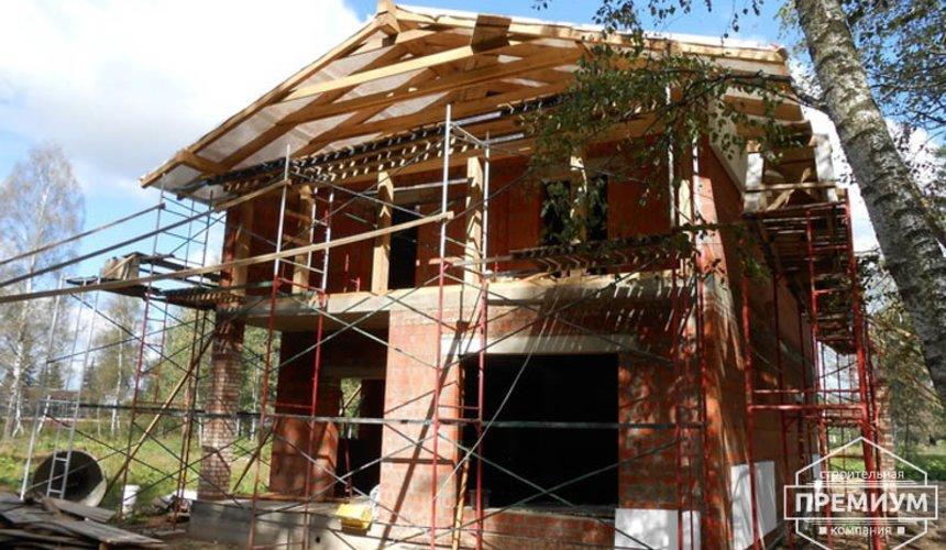 Строительство дома из кирпича в п.Сысерть 115