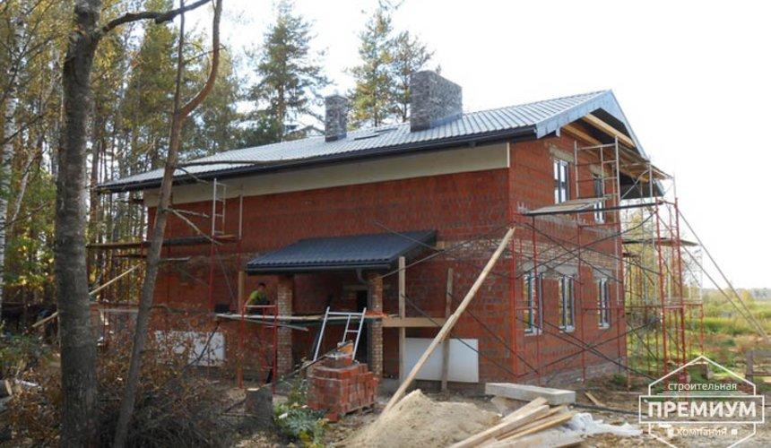 Строительство дома из кирпича в п.Сысерть 116