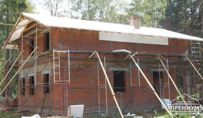 Строительство дома из кирпича в п.Сысерть 118