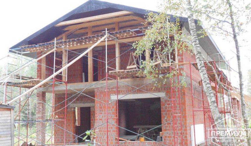 Строительство дома из кирпича в п.Сысерть 120