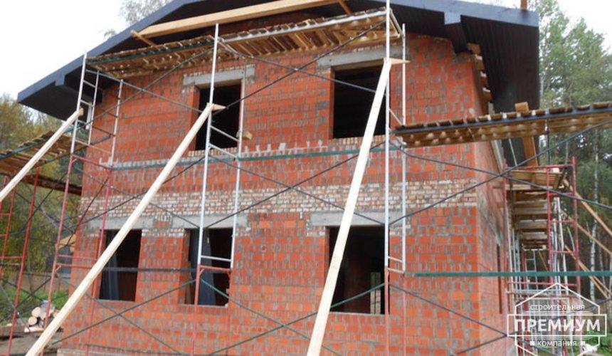 Строительство дома из кирпича в п.Сысерть 123