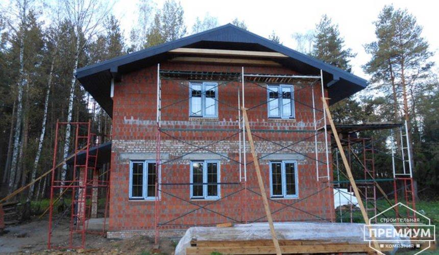 Строительство дома из кирпича в п.Сысерть 125