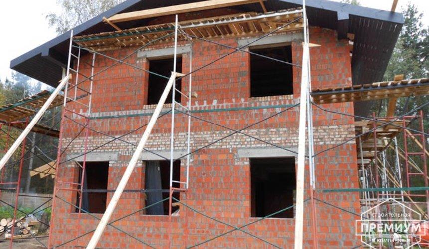 Строительство дома из кирпича в п.Сысерть 127