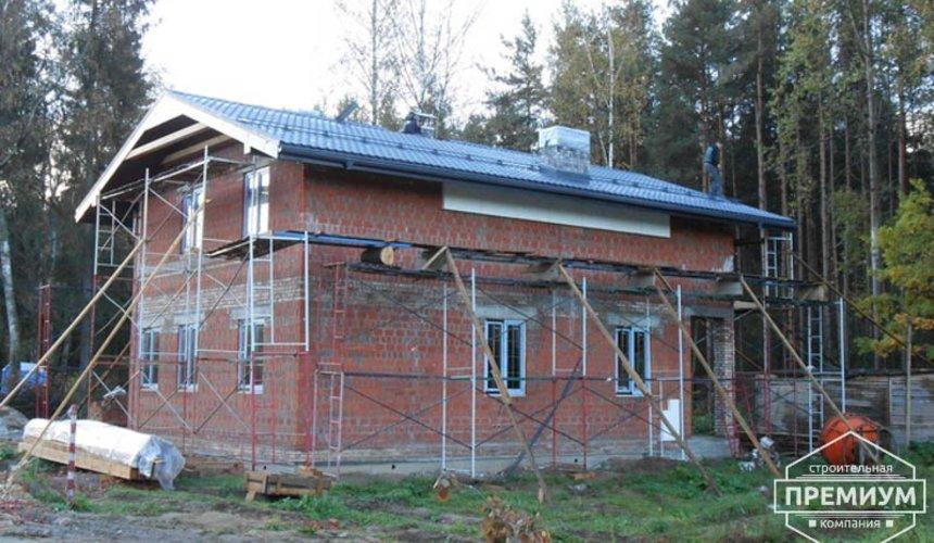Строительство дома из кирпича в п.Сысерть 128