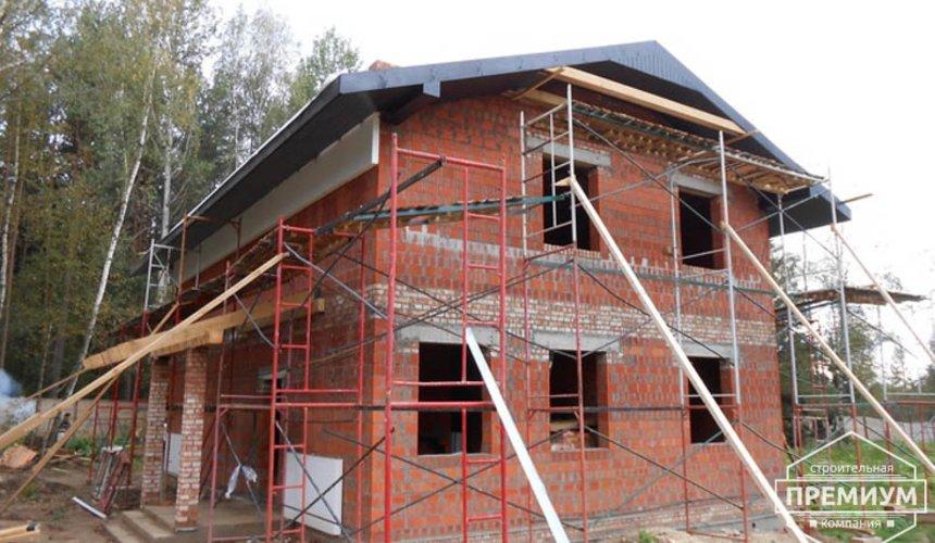 Строительство дома из кирпича в п.Сысерть 131