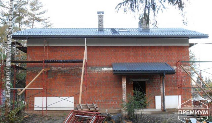 Строительство дома из кирпича в п.Сысерть 132