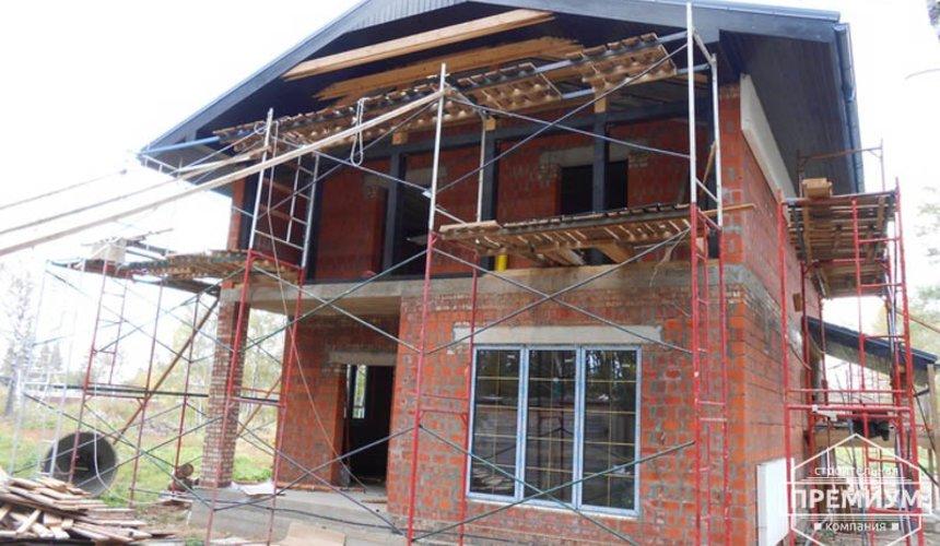 Строительство дома из кирпича в п.Сысерть 134