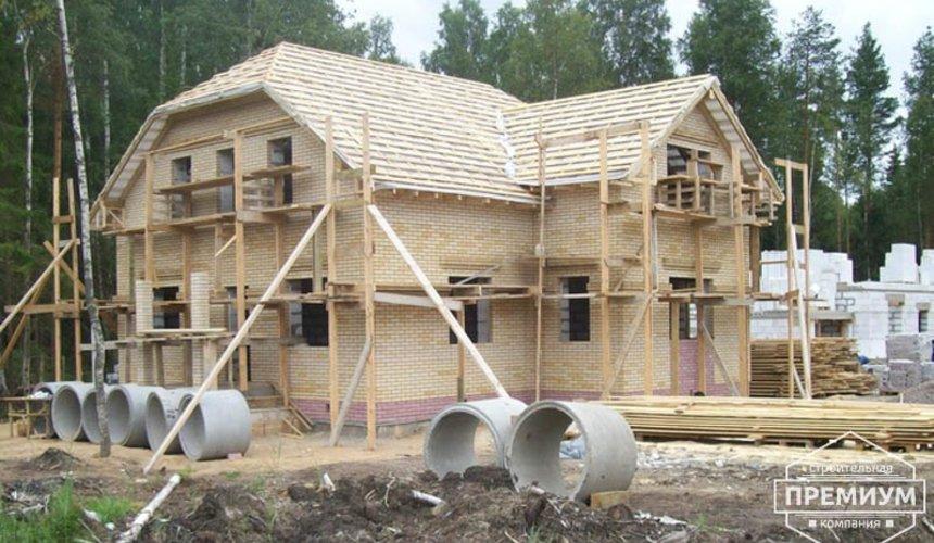 Проектирование и строительство дома из блоков в Сысерти 1