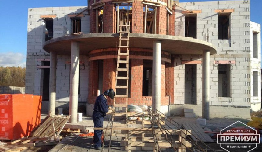 Проектирование и строительство дома из блоков в коттеджном посёлке Новая Россоха 22