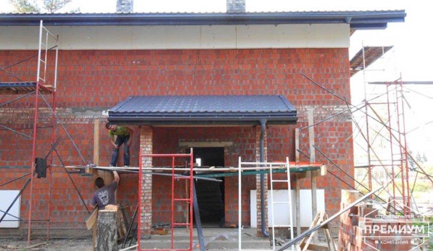 Строительство дома из кирпича в п.Сысерть 137