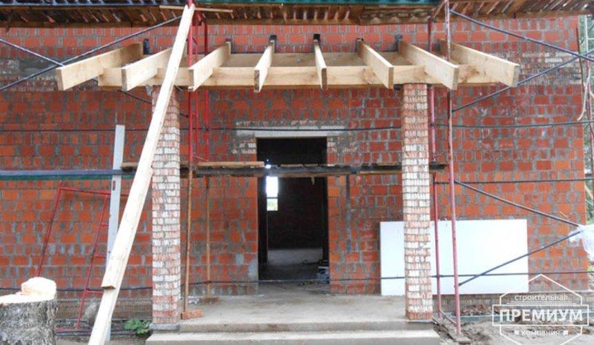 Строительство дома из кирпича в п.Сысерть 138