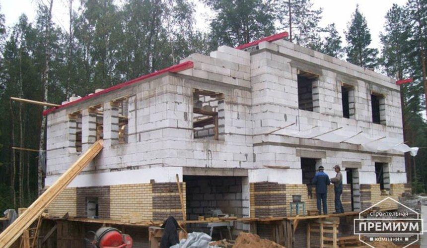 Проектирование и строительство дома из блоков в п.Верхняя Сысерть 1