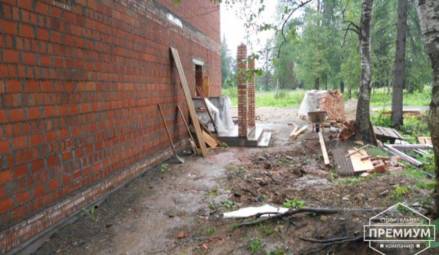 Строительство дома из кирпича в п.Сысерть 148