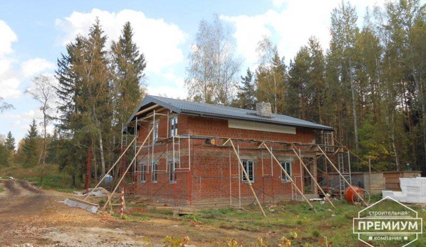 Строительство дома из кирпича в п.Сысерть 154