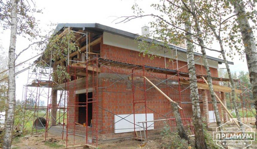 Строительство дома из кирпича в п.Сысерть 157