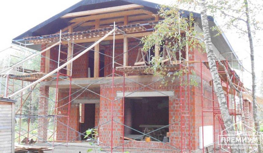 Строительство дома из кирпича в п.Сысерть 161