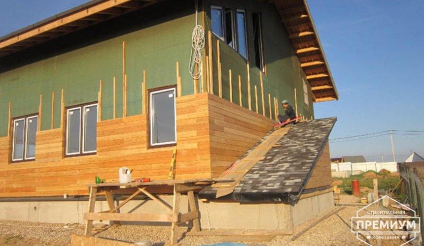 Строительство каркасного дома в коттеджном посёлке Александрия 26