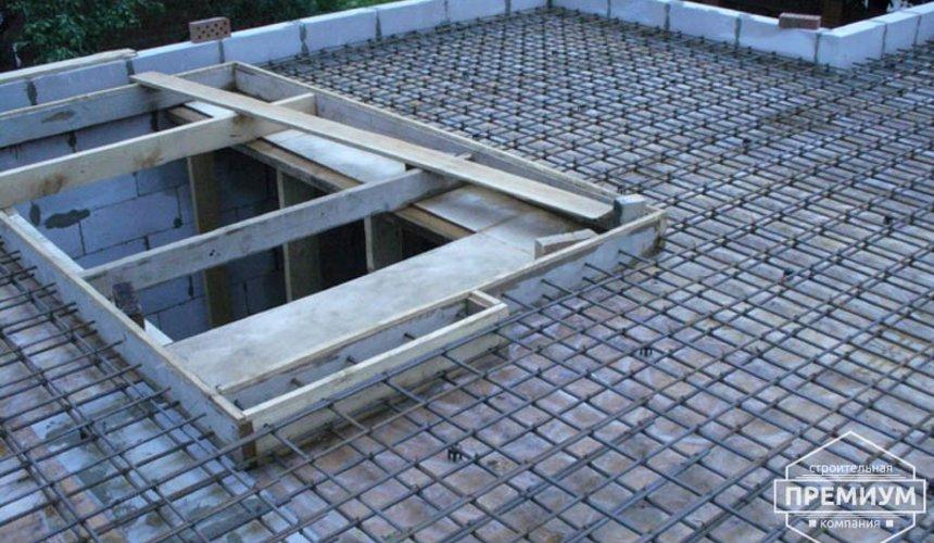 Проектирование и строительство дома из блоков в коттеджном посёлке Брусника 24