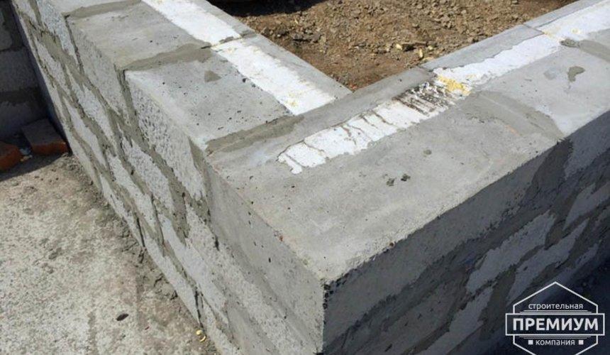 Строительство дома из блоков в коттеджном посёлке Алые паруса 34
