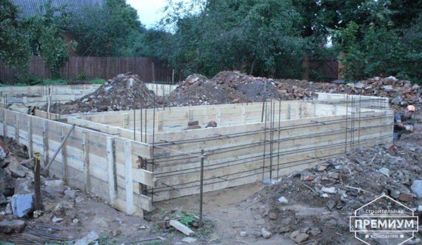 Проектирование и строительство дома из блоков в коттеджном посёлке Брусника 6