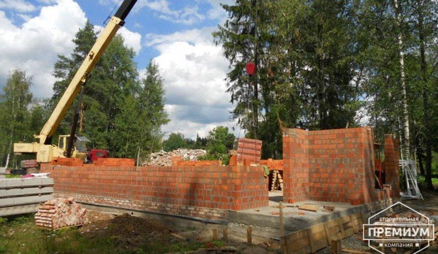 Строительство дома из кирпича в п.Сысерть 5