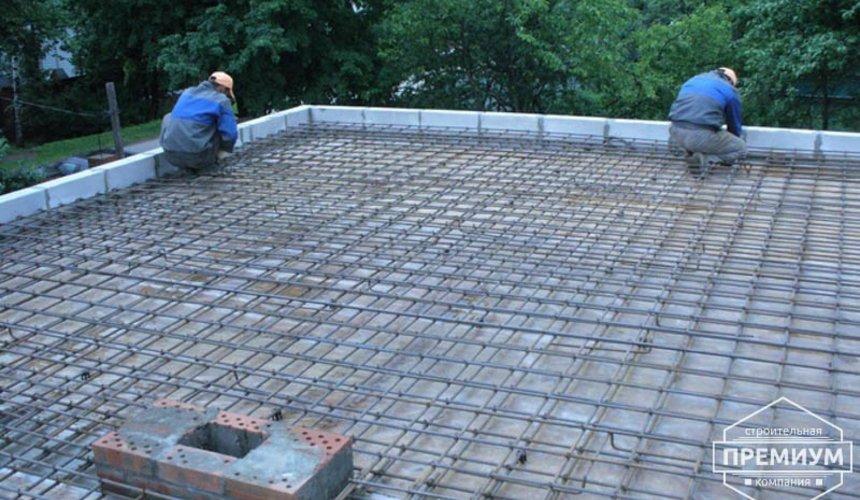 Проектирование и строительство дома из блоков в коттеджном посёлке Брусника 25