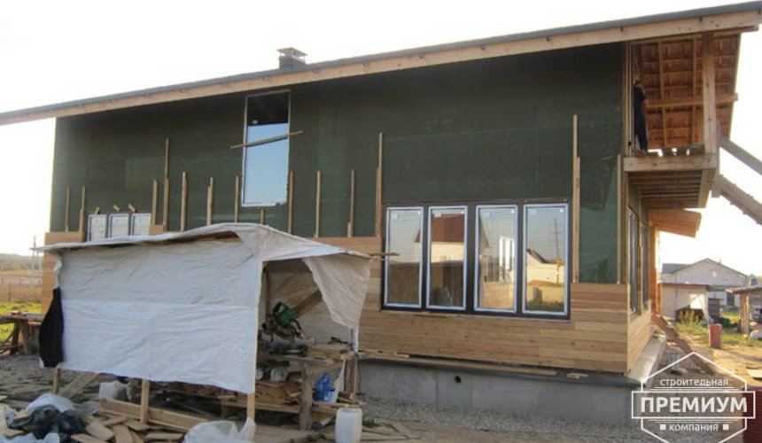 Строительство каркасного дома в коттеджном посёлке Александрия 28