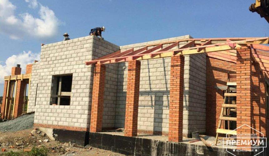 Строительство дома из блоков в коттеджном посёлке Алые паруса 38