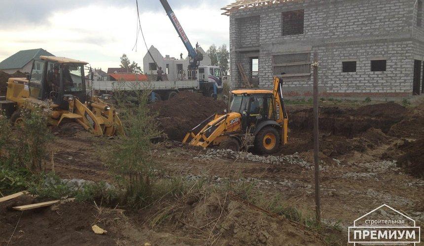 Строительство дома из блоков в с.Курганово 21