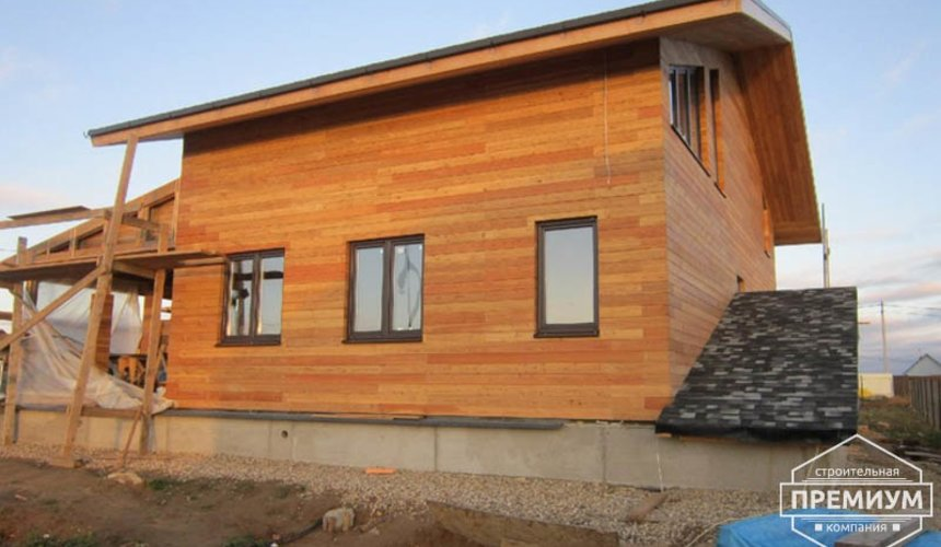 Строительство каркасного дома в коттеджном посёлке Александрия 32