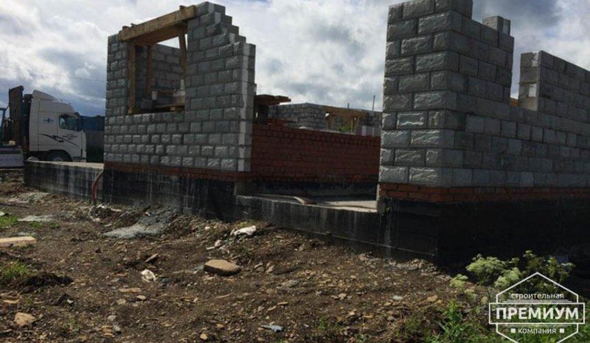 Строительство дома из блоков в коттеджном посёлке Алые паруса 41