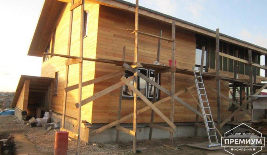 Строительство каркасного дома в коттеджном посёлке Александрия 34