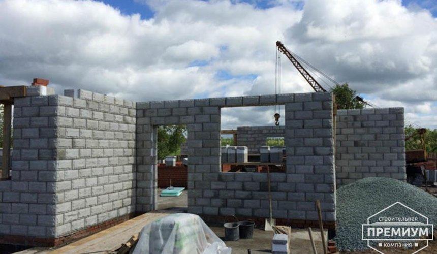 Строительство дома из блоков в коттеджном посёлке Алые паруса 43