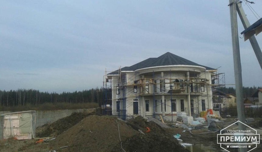 Проектирование и строительство дома из блоков в коттеджном посёлке Новая Россоха 37