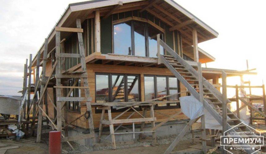 Строительство каркасного дома в коттеджном посёлке Александрия 40