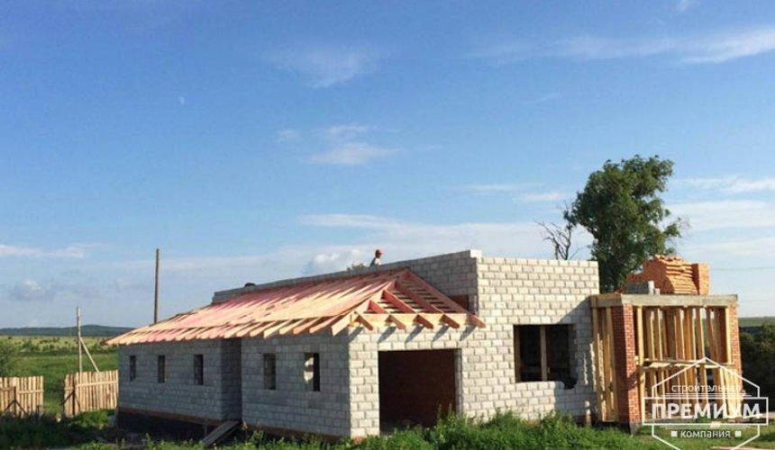 Строительство дома из блоков в коттеджном посёлке Алые паруса 49