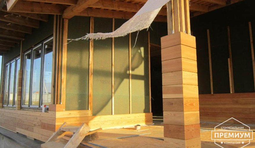 Строительство каркасного дома в коттеджном посёлке Александрия 46