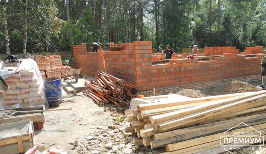 Строительство дома из кирпича в п.Сысерть 7