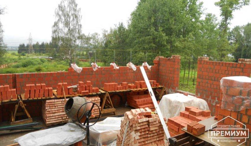 Строительство дома из кирпича в п.Сысерть 8