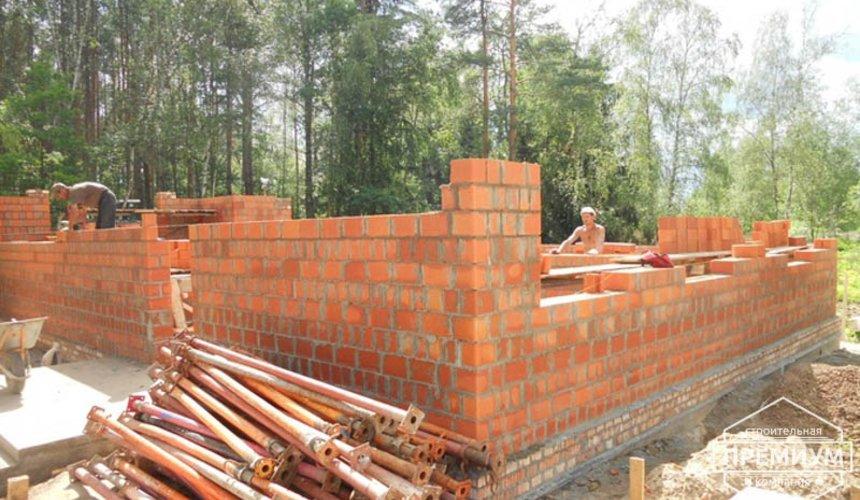 Строительство дома из кирпича в п.Сысерть 9