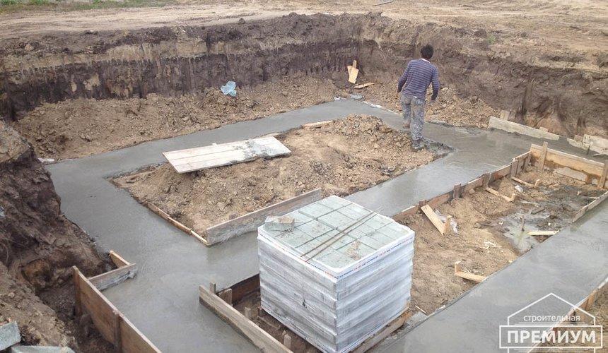 Строительство дома из блоков в с.Курганово 26