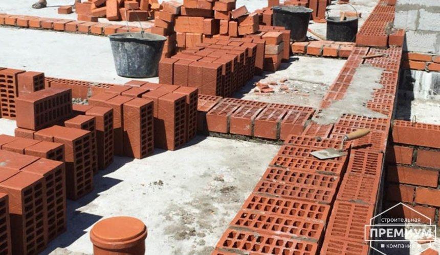 Строительство дома из блоков в коттеджном посёлке Алые паруса 50