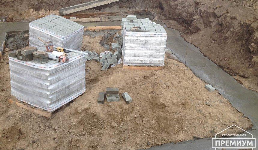 Строительство дома из блоков в с.Курганово 27