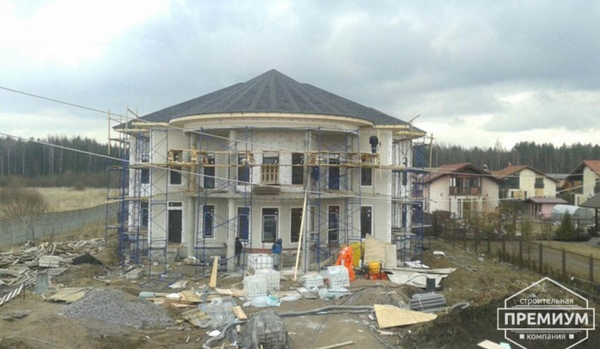 Проектирование и строительство дома из блоков в коттеджном посёлке Новая Россоха 43