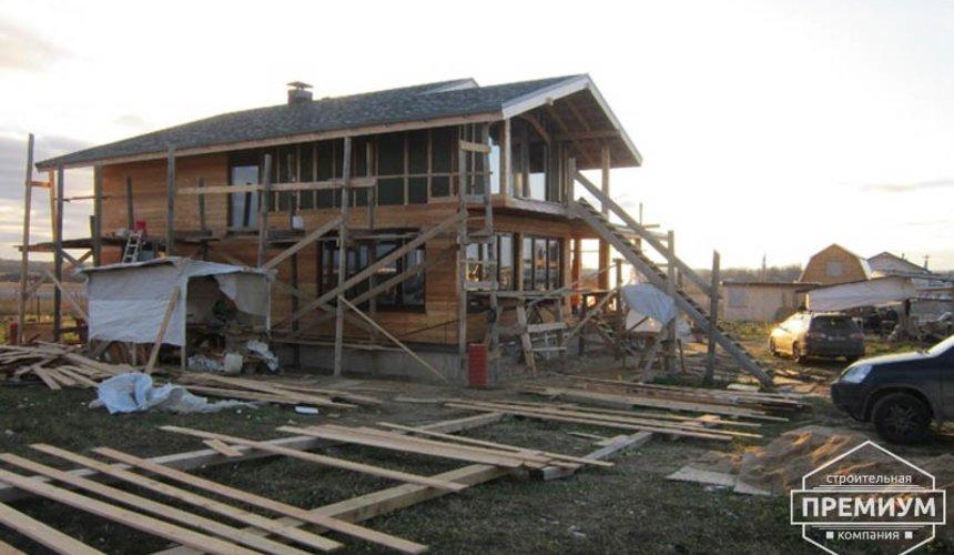 Строительство каркасного дома в коттеджном посёлке Александрия 56